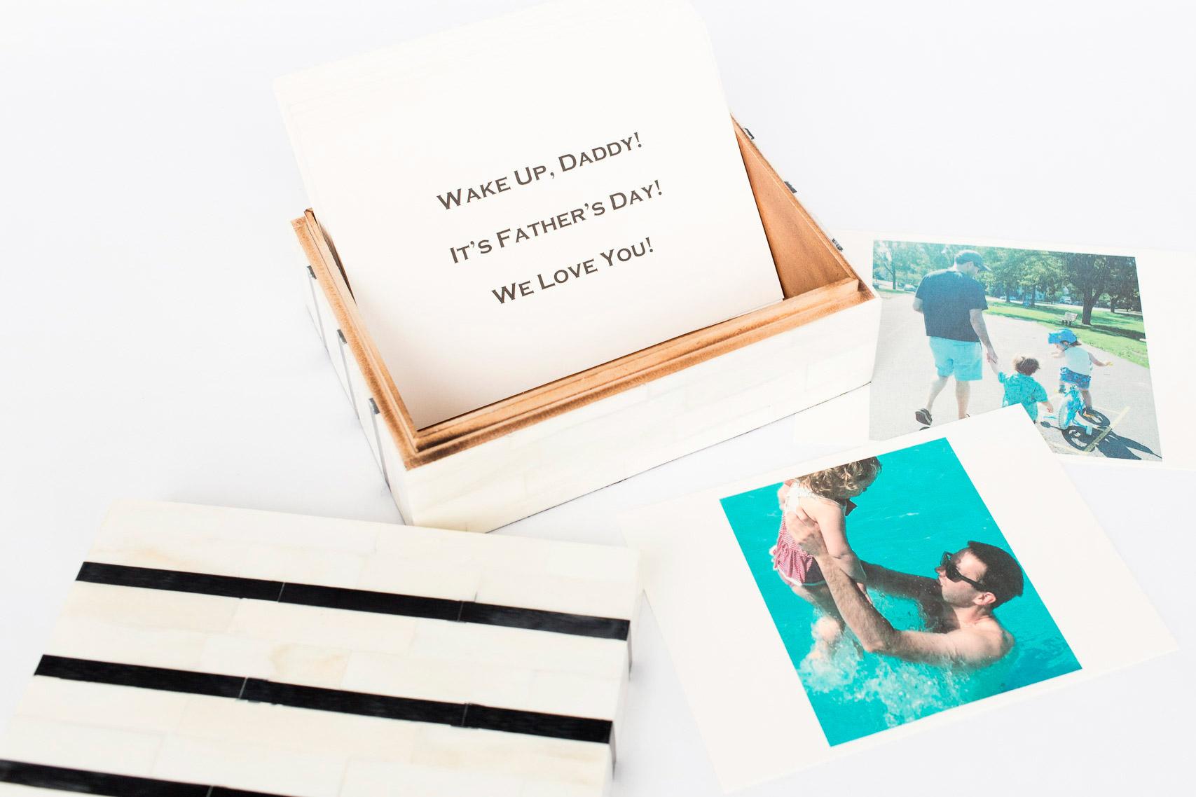 Boombox Gifts – Black Stripe – Open