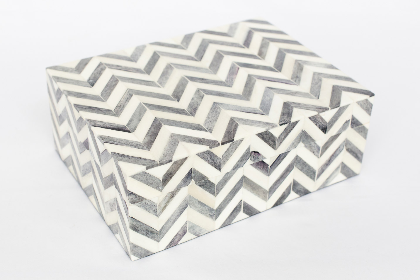 Boombox Gifts – Gray Chevron – Closed