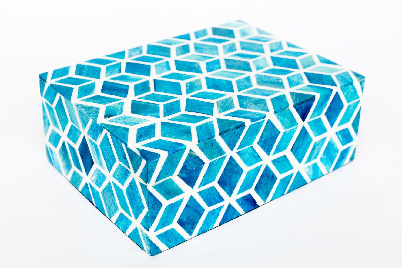 Boombox Gifts – Turquoise Tile – Closed